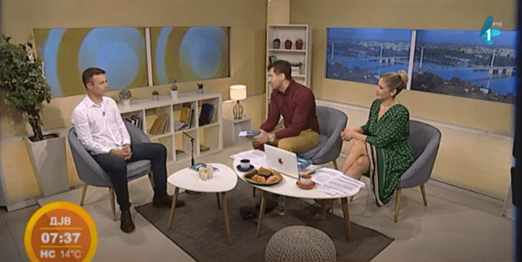 Gostovanje u jutarnjem programu – Radio-televizija Vojvodine